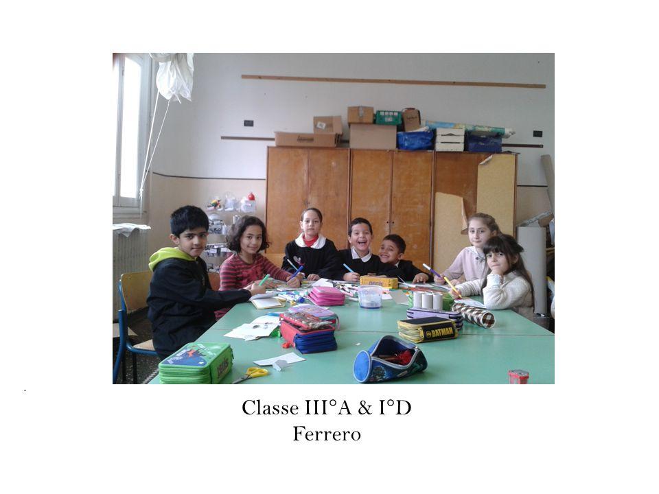 . Classe III°A & I°D Ferrero