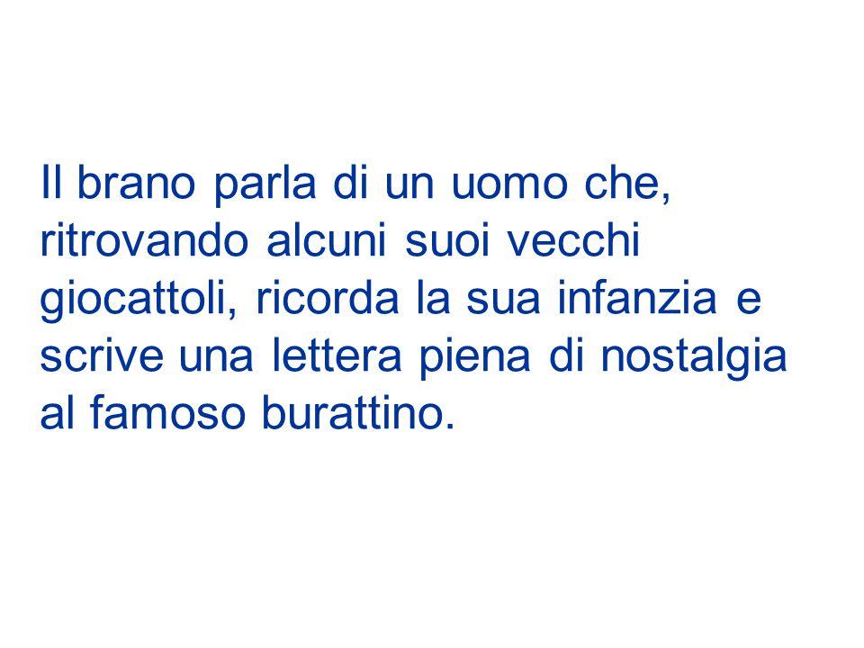 Anno: 1959 Autore: Mario Panzeri, famoso anche per essere stato l'autore di Grazie dei fior, canzone vincitrice del primo festival di Sanremo, nel 1951 Cantante: La canzone, cantata da due bambine, Giusi Guercilena e Loredana Taccani, fu presentata nella prima edizione dello Zecchino d Oro.