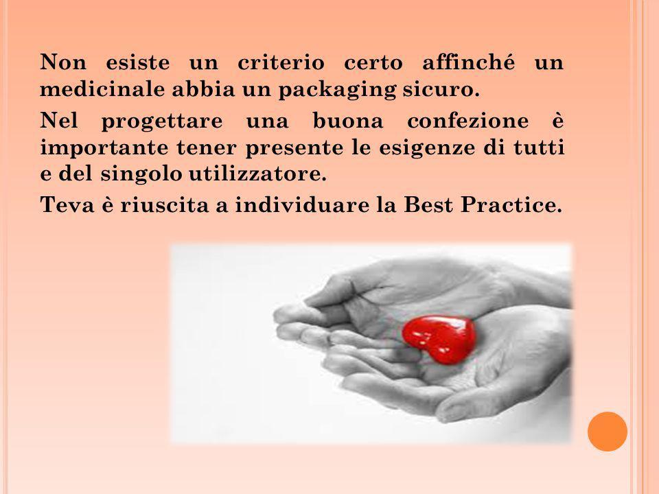 Non esiste un criterio certo affinché un medicinale abbia un packaging sicuro. Nel progettare una buona confezione è importante tener presente le esig