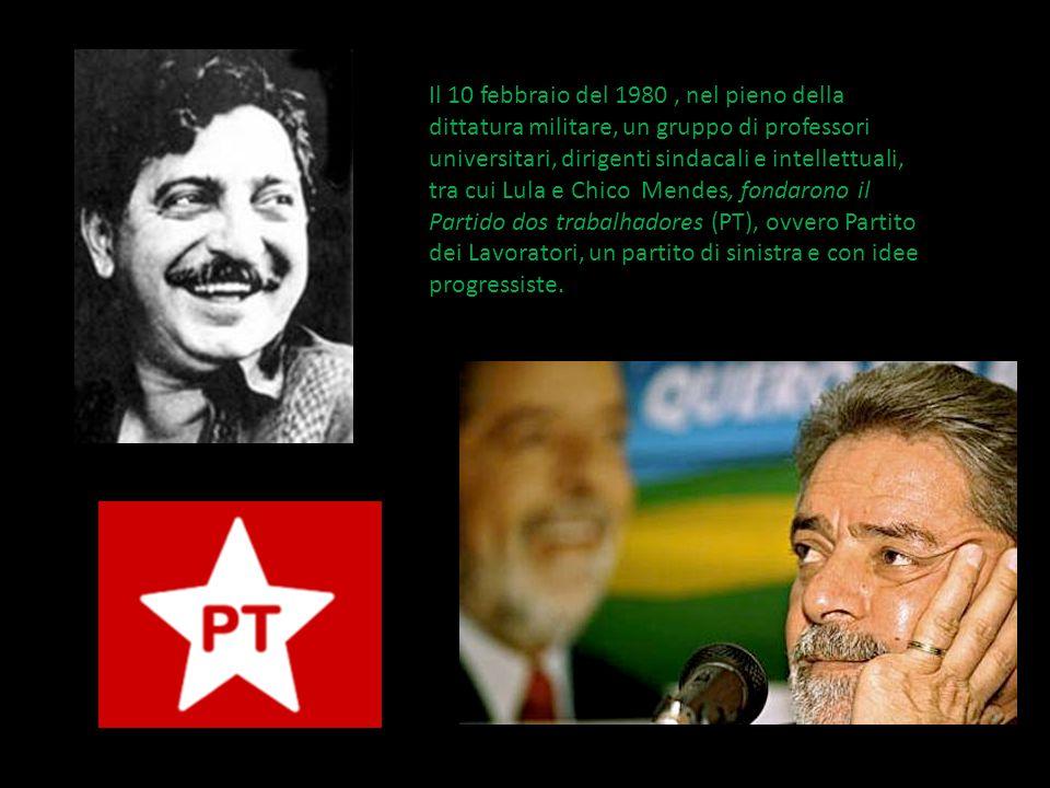 Il 10 febbraio del 1980, nel pieno della dittatura militare, un gruppo di professori universitari, dirigenti sindacali e intellettuali, tra cui Lula e