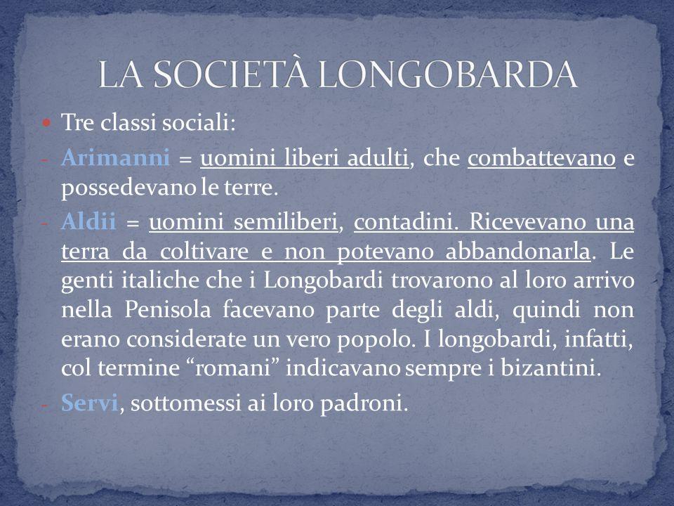 Principali re longobardi dopo Alboino:  Agilulfo (584-590)  grazie all'intervento della moglie Teodolinda, che era cattolica, favorisce la conversione dei Longobardi al cattolicesimo  Rotari (636-652)  codice di leggi scritte, nel 643 (Editto di Rotari)  Liutprando (712-744)  conquista la Romània e si spinge verso il Lazio.