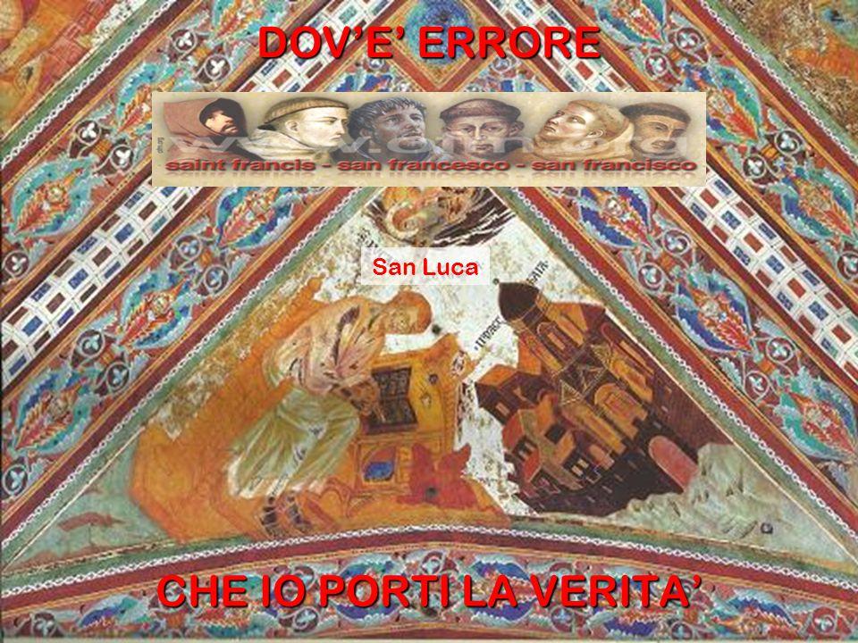 DOV'E' DUBBIO CHE IO PORTI LA FEDE il sogno di papa Innocenzo III