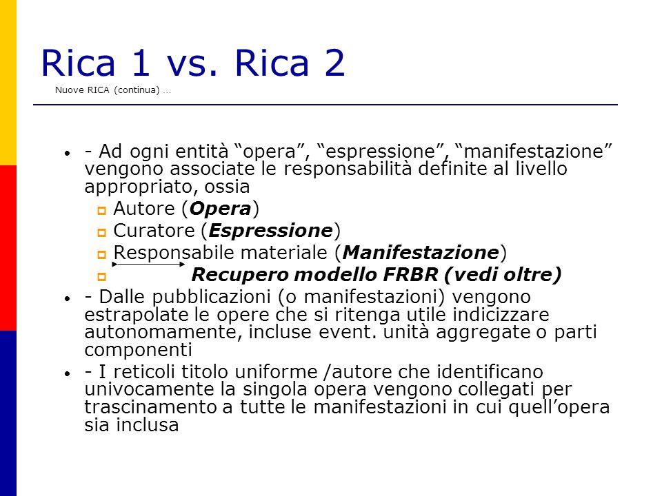 Rica 1 vs.