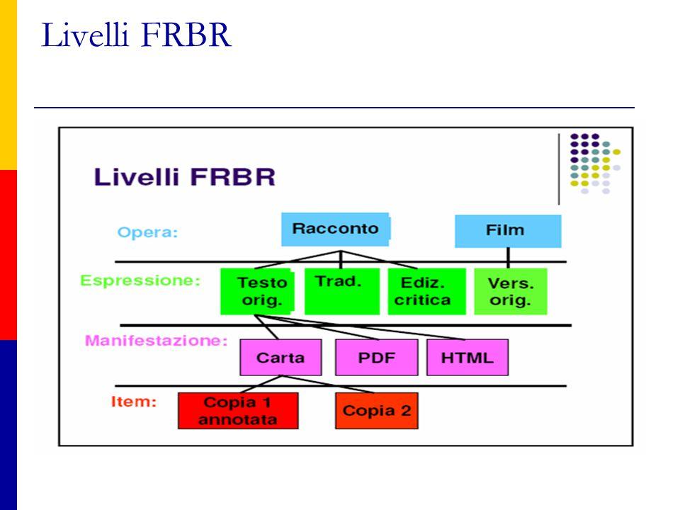 Livelli FRBR