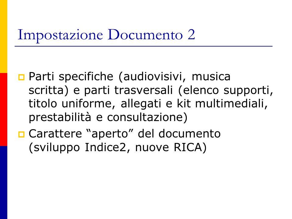 Titolo uniforme musicale La struttura del t.u.m.