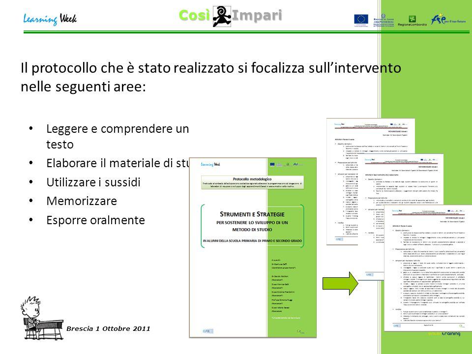 Così Impari Brescia 1 Ottobre 2011 Il confronto col campione normativo… Differenza d'uso QS2 nella scuola secondaria di secondo grado: FREQ.PERC.VALID.