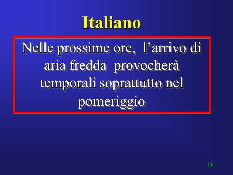"""32 """"Greco antico"""" La presenza di una estesa area depressionaria favorirà l'avvezione sull'Italia di aria fredda ed instabile in quota, che accentuerà"""