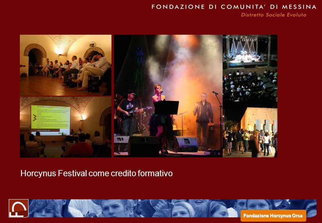 Horcynus Festival come credito formativo Fondazione Horcynus Orca