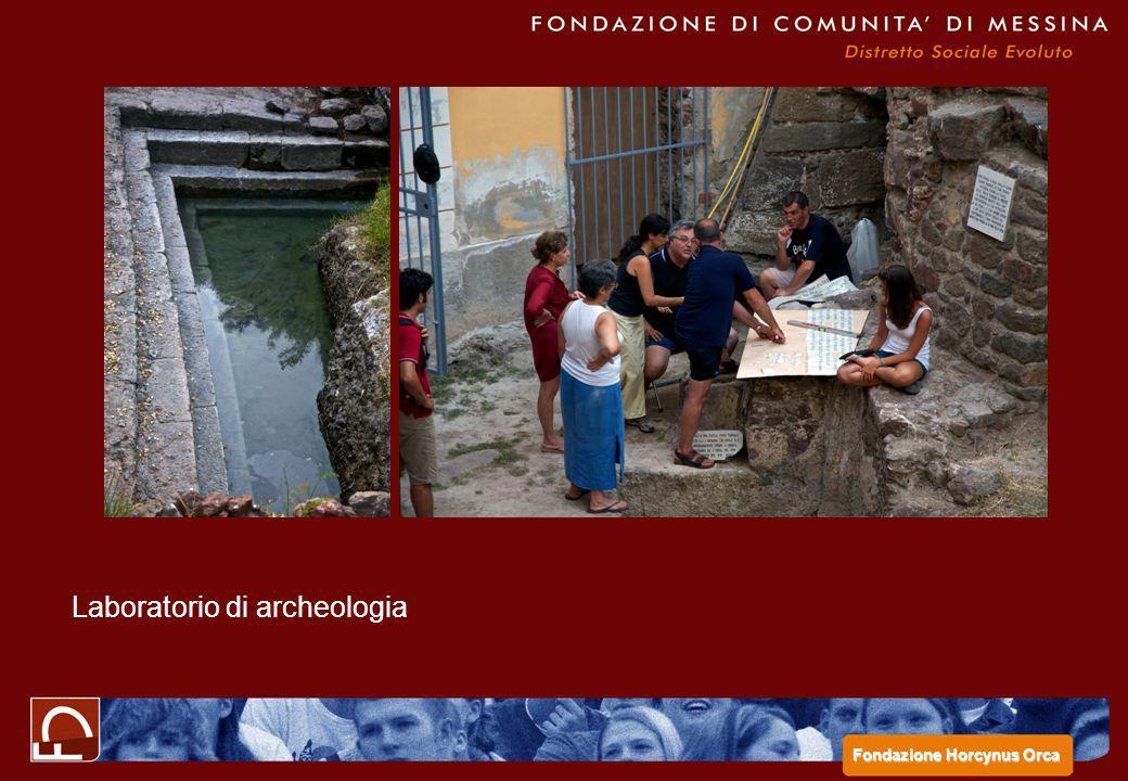 Laboratorio di archeologia Fondazione Horcynus Orca