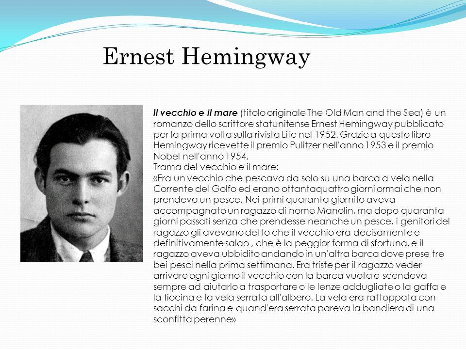 Ernest Hemingway ll vecchio e il mare (titolo originale The Old Man and the Sea) è un romanzo dello scrittore statunitense Ernest Hemingway pubblicato per la prima volta sulla rivista Life nel 1952.