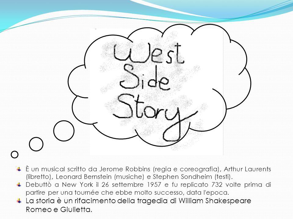 Trama West Side Story È ambientato nell Upper West Side di New York City tra bande di strada americane e portoricane.