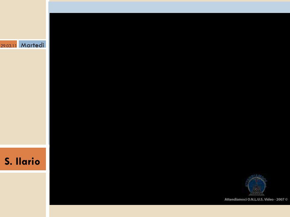 """a S. Ilario Catechesi Adulti - Quaresima 2011- Essere educatori 29.03.11 Martedì """"Vedrò il volto di Dio"""" dove e come incontrare Dio"""