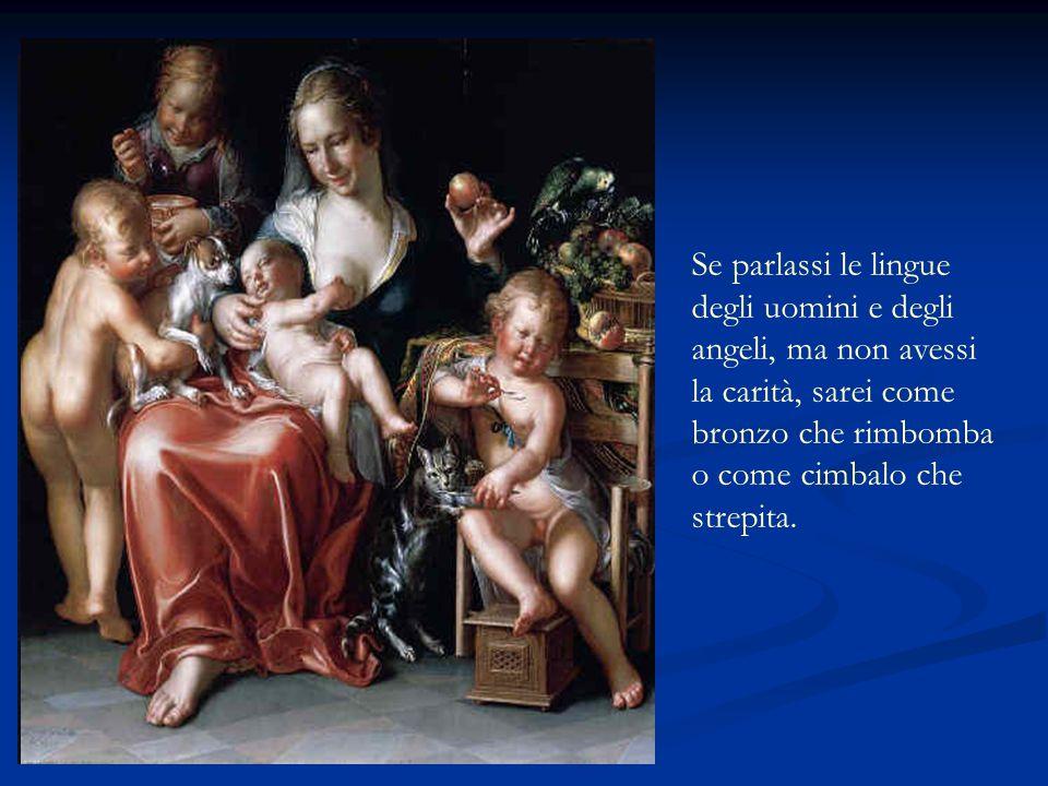 INNO ALLA CARITA' Dalla prima lettera Di San Paolo Apostolo Ai Corinzi By Angelo amor43@alice.it Nuova versione Bibbia C.E.I. www.cassano-addaonmymin.