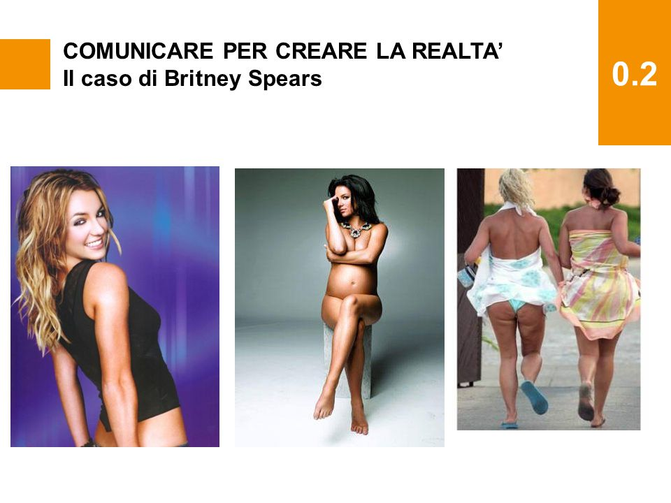 0.2 COMUNICARE PER CREARE LA REALTA' Il caso di Britney Spears