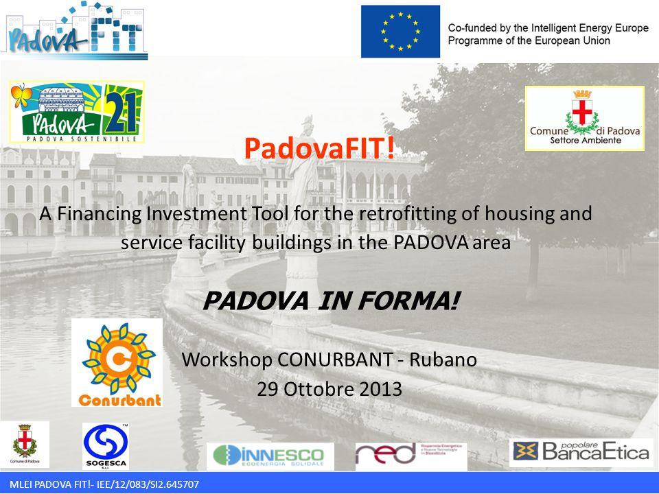MLEI PADOVA FIT!- IEE/12/083/SI2.645707 Padova FIT.