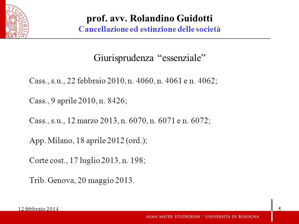 12 febbraio 20146 prof.avv.