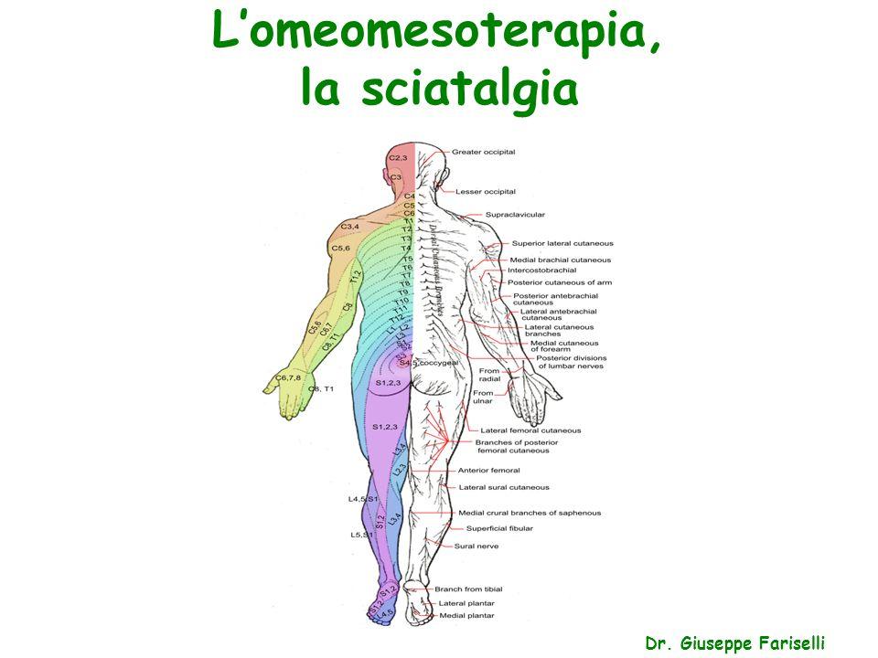 L'omeomesoterapia, la sciatalgia Dr. Giuseppe Fariselli