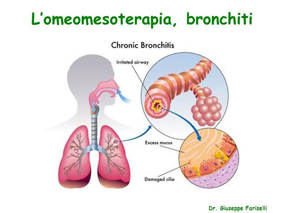 L'omeomesoterapia, bronchiti Dr. Giuseppe Fariselli