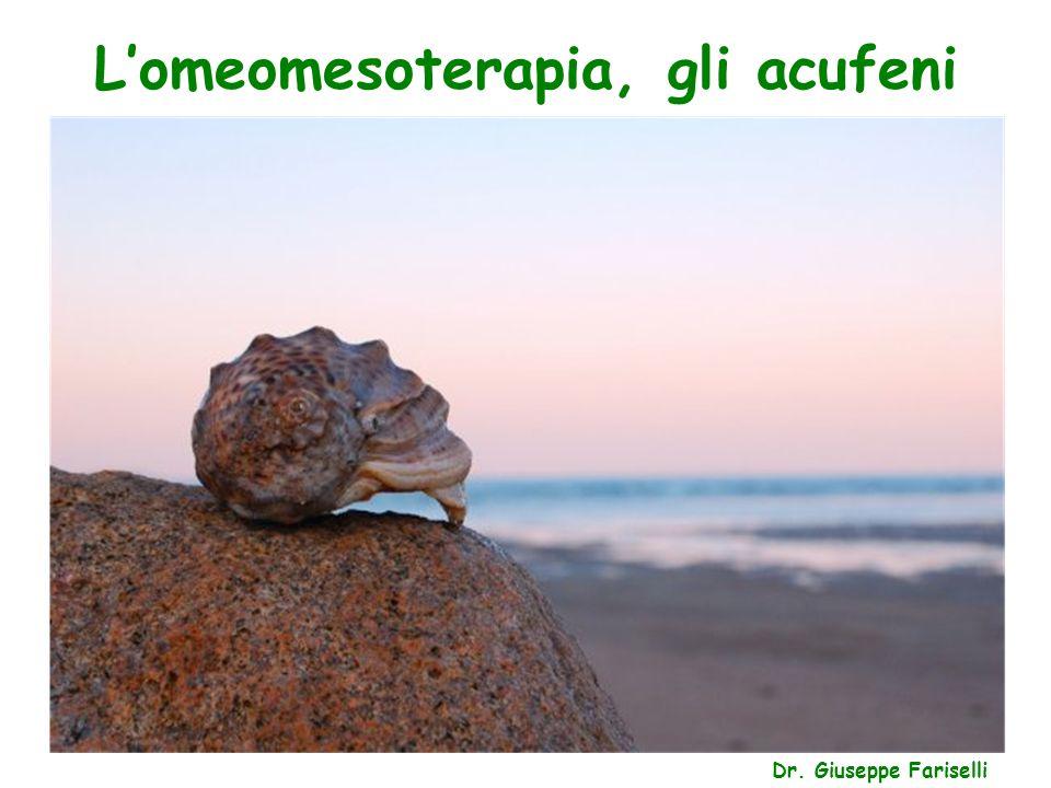 L'omeomesoterapia, gli acufeni Dr. Giuseppe Fariselli