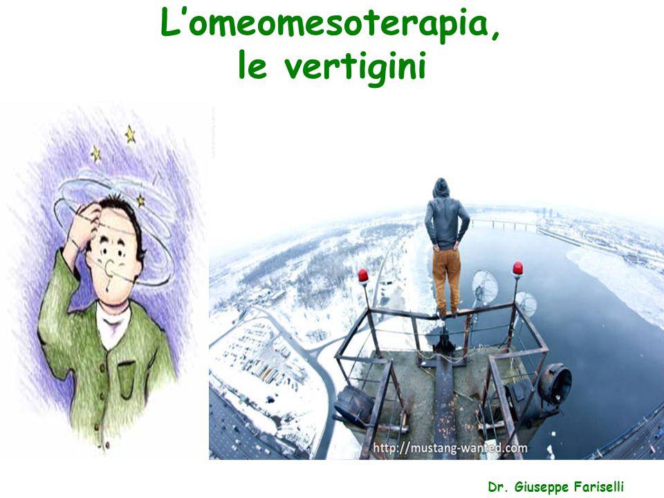 L'omeomesoterapia, le vertigini Dr. Giuseppe Fariselli