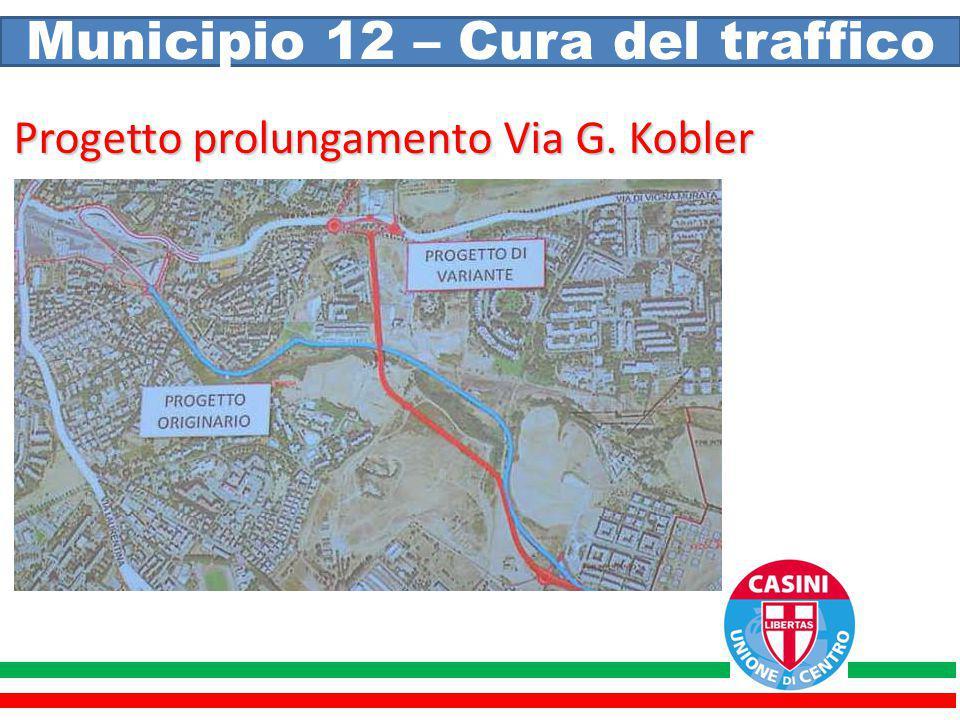 Municipio 12 – Cura del traffico Progetto prolungamento Via G. Kobler