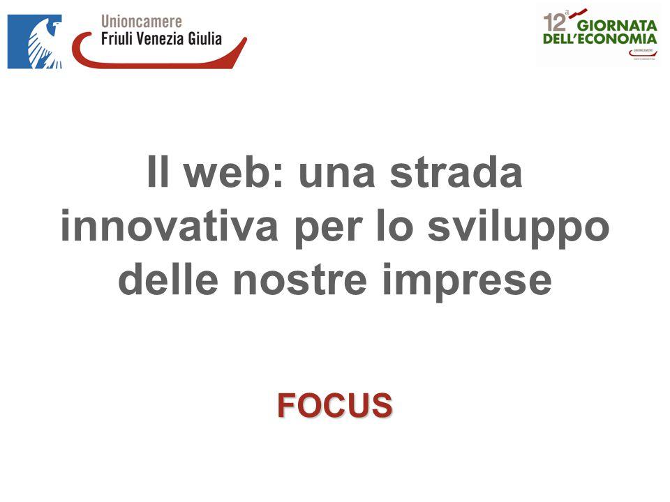 Il web: una strada innovativa per lo sviluppo delle nostre impreseFOCUS