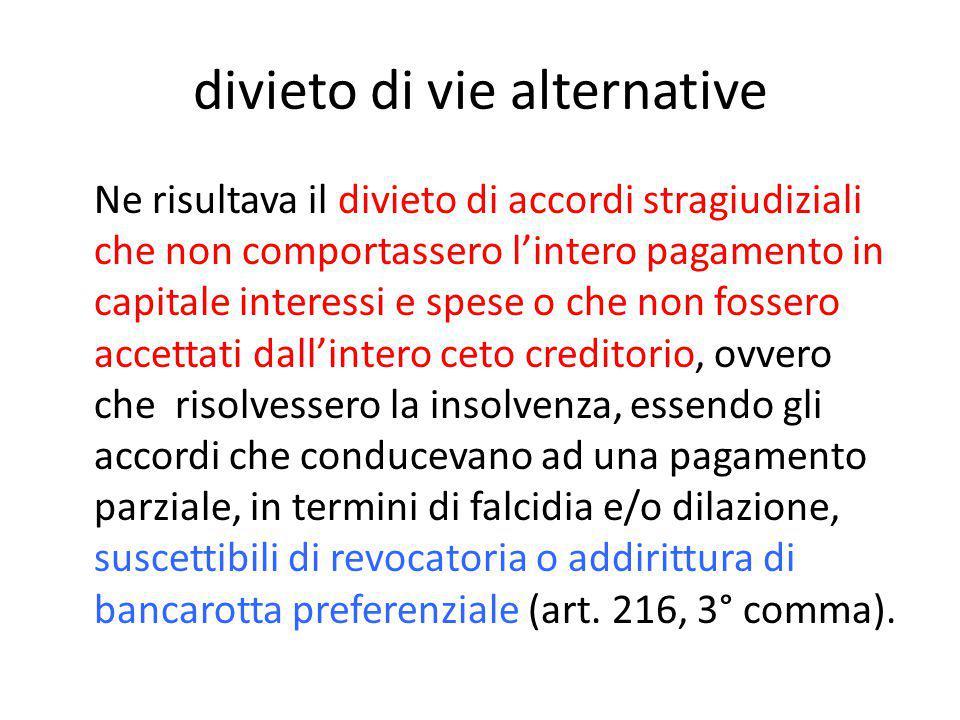 Requisiti soggettivi La unitarietà di principi che governano gli accordi, si scompone nei diversi presupposti soggettivi delle due procedure: -l'imprenditore, anche fallibile negli accordi ex art.