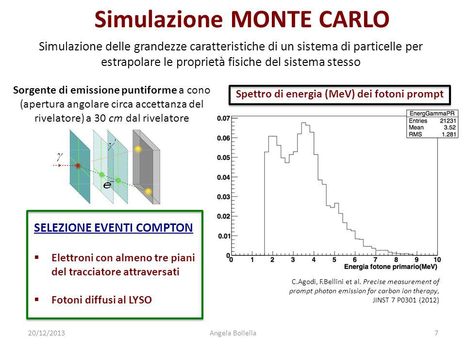 Simulazione MONTE CARLO Simulazione delle grandezze caratteristiche di un sistema di particelle per estrapolare le proprietà fisiche del sistema stess