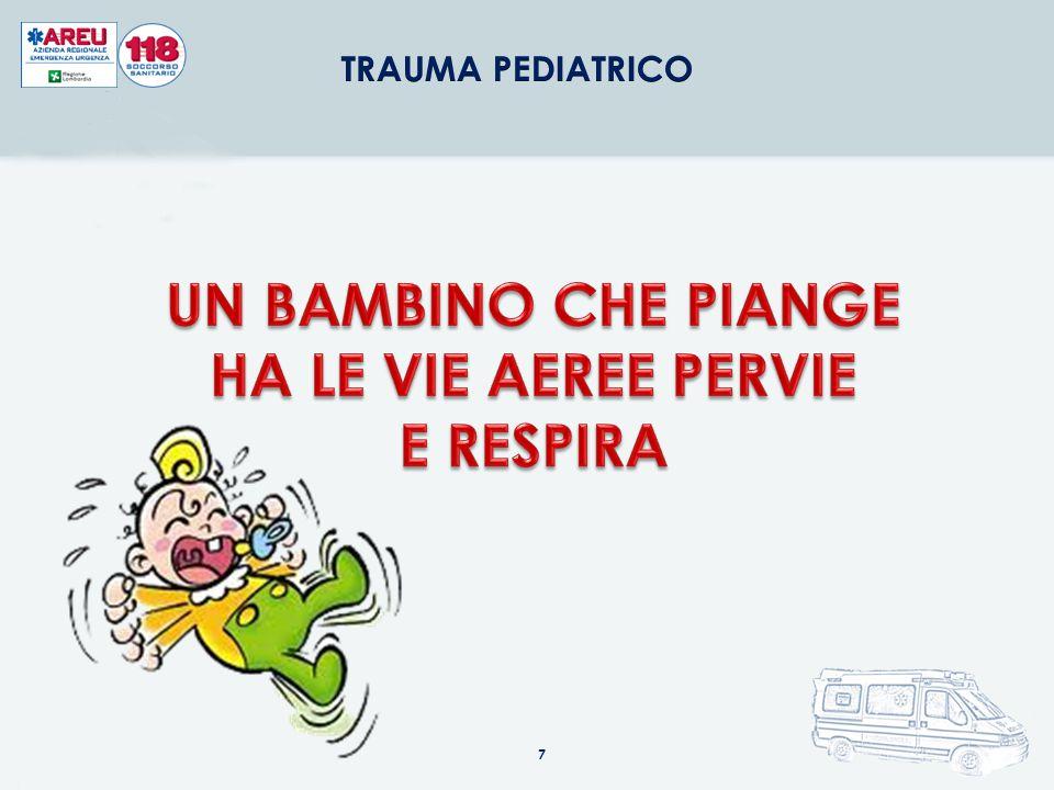 NELL'INFANTE LA LINGUA È PIÙ GRANDE INALAZIONE CORPI ESTRANEI (DENTI DA LATTE) SE È NECESSARIO INSERIRE CANNULA OROFARINGEA UTILIZZARE L'ABBASSALINGUA ATTENZIONE AL VOMITO INDOTTO!!.