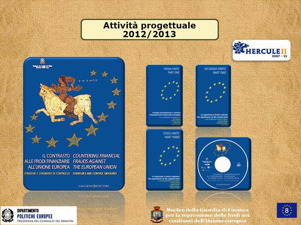 Attività progettuale 2012/2013 8