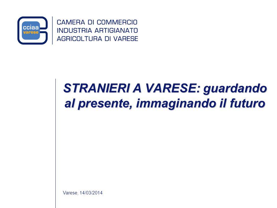 Varese, 14/03/2014 STRANIERI A VARESE: guardando al presente, immaginando il futuro