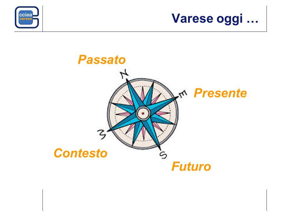 La crescita della popolazione a Varese Fonte: Censimenti, Istat