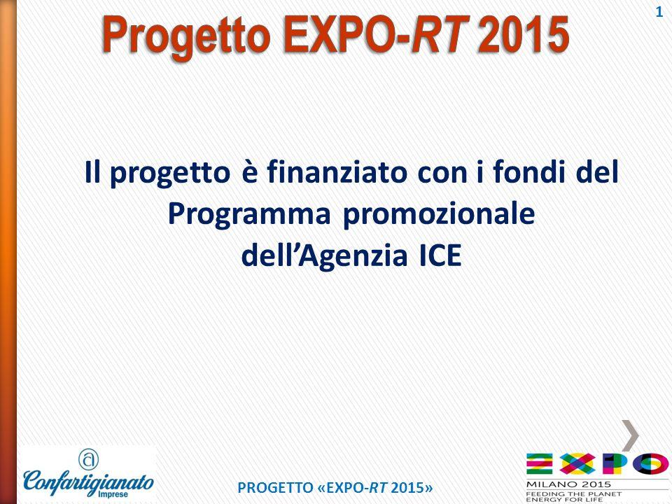 Il progetto EXPO-RT 2015 si aggancia temporalmente e mediaticamente ad Expo 2015.