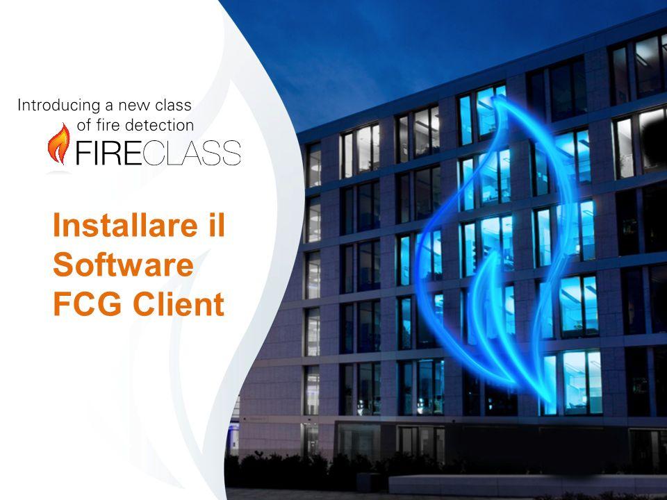 Installare il Software FCG Client
