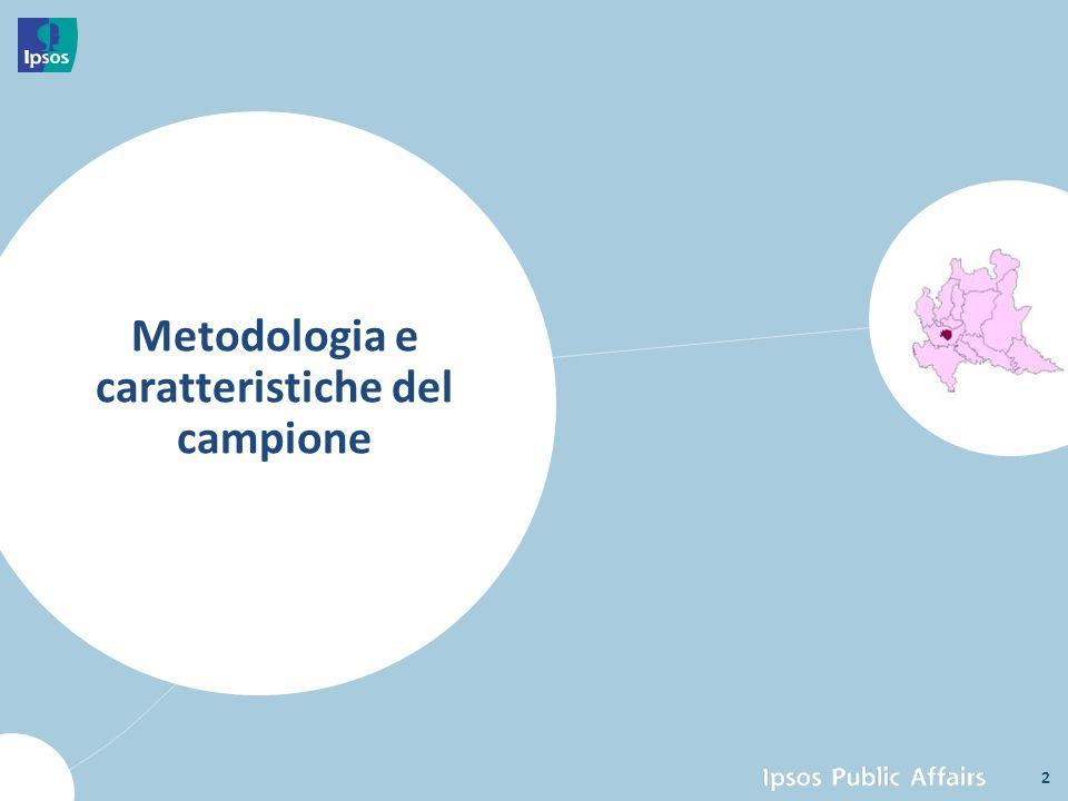 Impianto metodologico 3 L'edizione 2013-2014 analogamente all'edizione precedente è stata strutturata affiancando al campione di cittadini ITALIANI un campione di cittadini STRANIERI, suddivisi per le principali etnie: Europa, Africa, America Latina e Asia.
