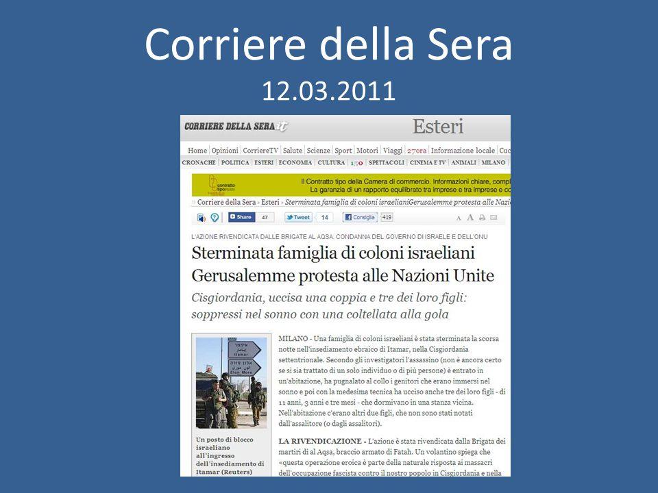 Corriere della Sera 12.03.2011