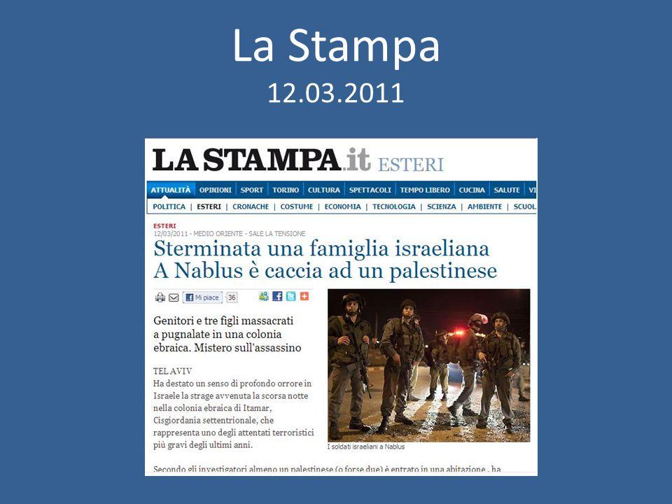 La Stampa 12.03.2011
