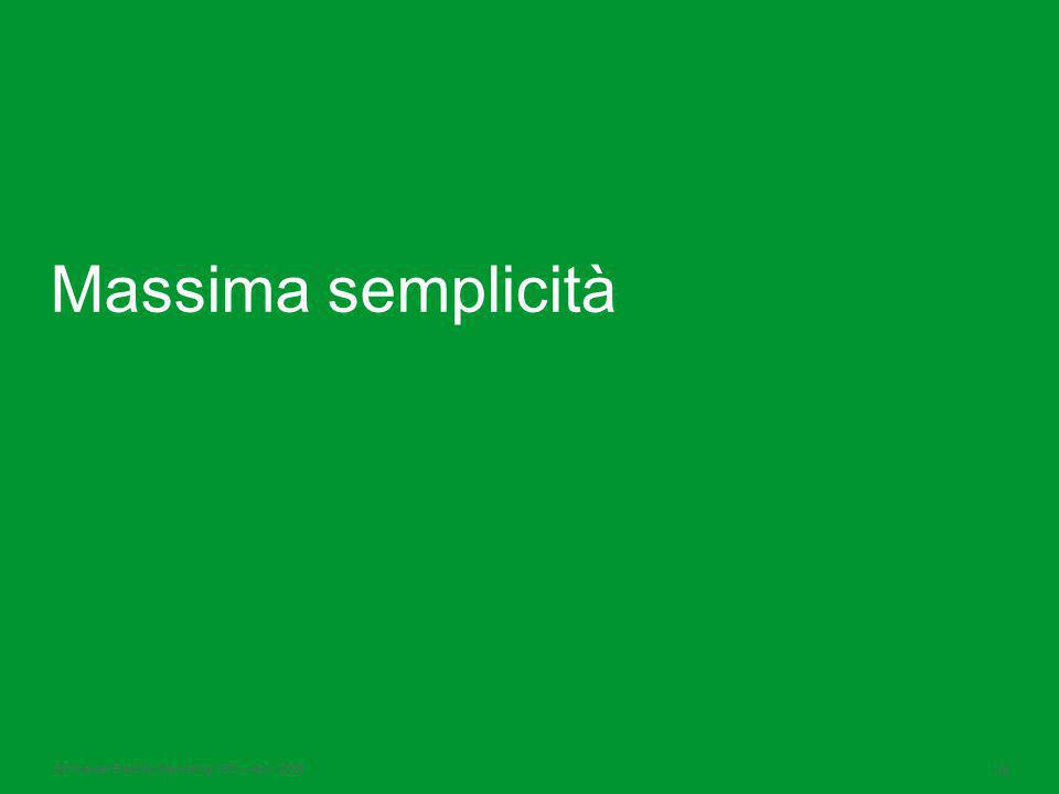 Schneider Electric 16 -Marketing VSD – April 2009 Massima semplicità