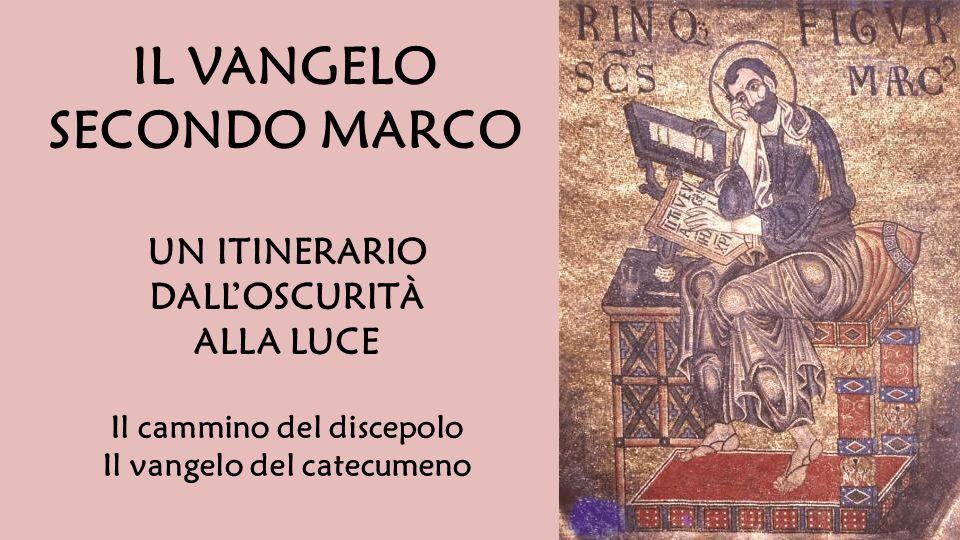 Alcune premesse  Marco ricuperato e ritrovato  I tratti marciani Questione letteraria  chi scrive.