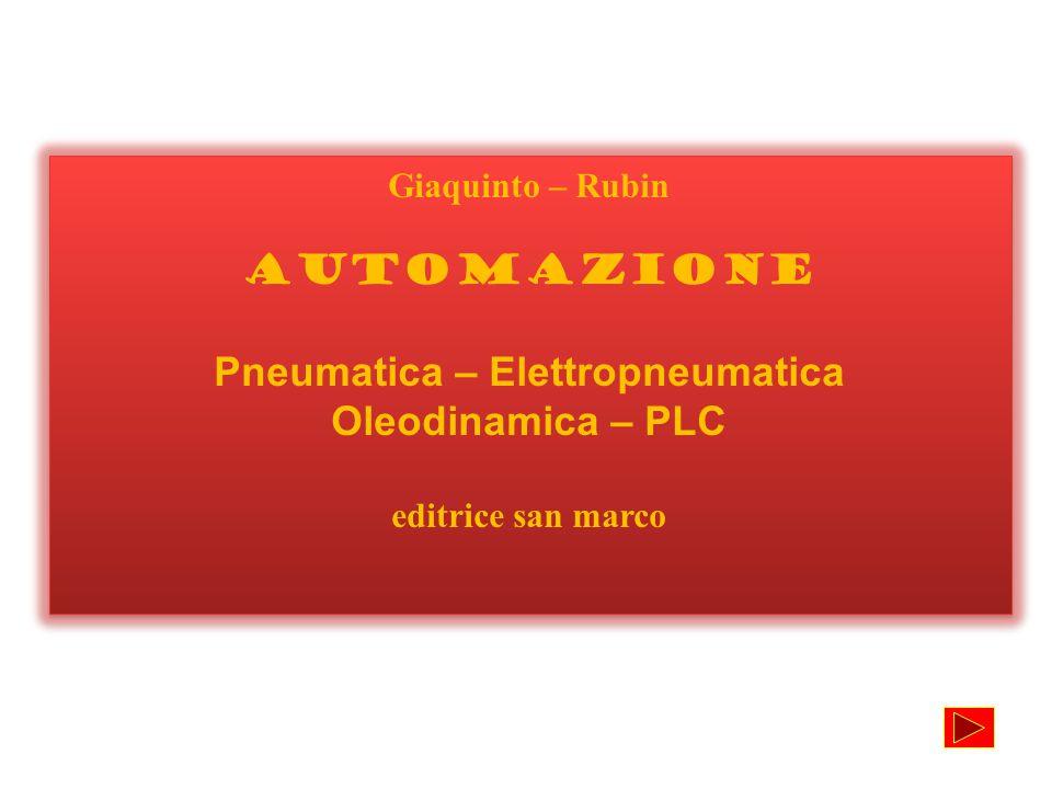 Giaquinto – Rubin AUTOMAZIONE Pneumatica – Elettropneumatica Oleodinamica – PLC editrice san marco