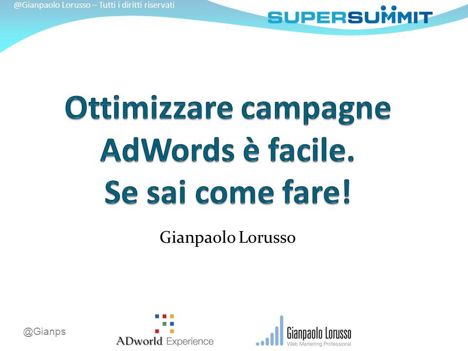 @Gianps @Gianpaolo Lorusso – Tutti i diritti riservati Gianpaolo Lorusso