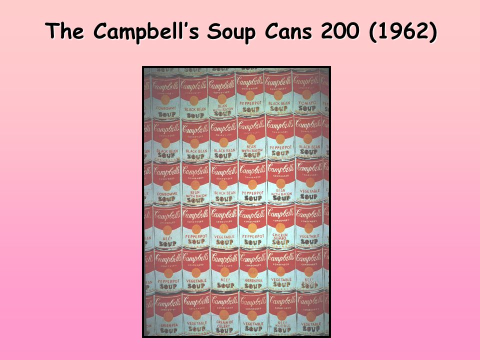 The Campbell's Soup Cans 200 (1962)