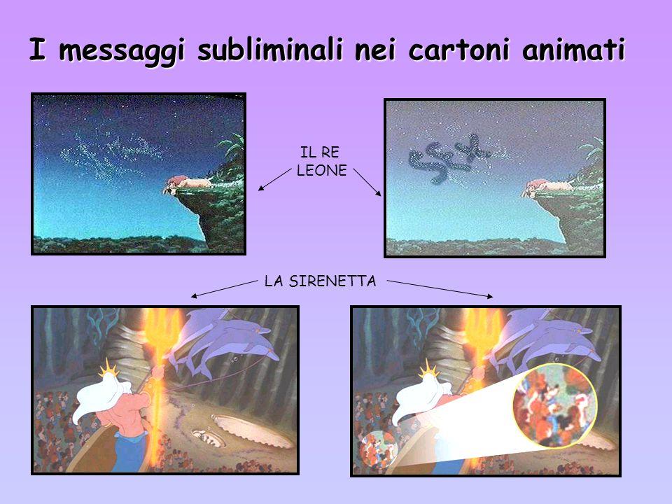 I messaggi subliminali nei cartoni animati IL RE LEONE LA SIRENETTA
