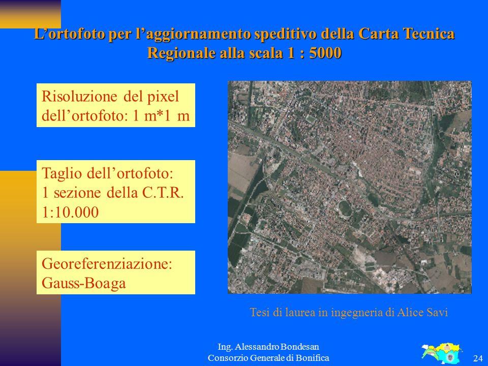 Ing. Alessandro Bondesan Consorzio Generale di Bonifica23