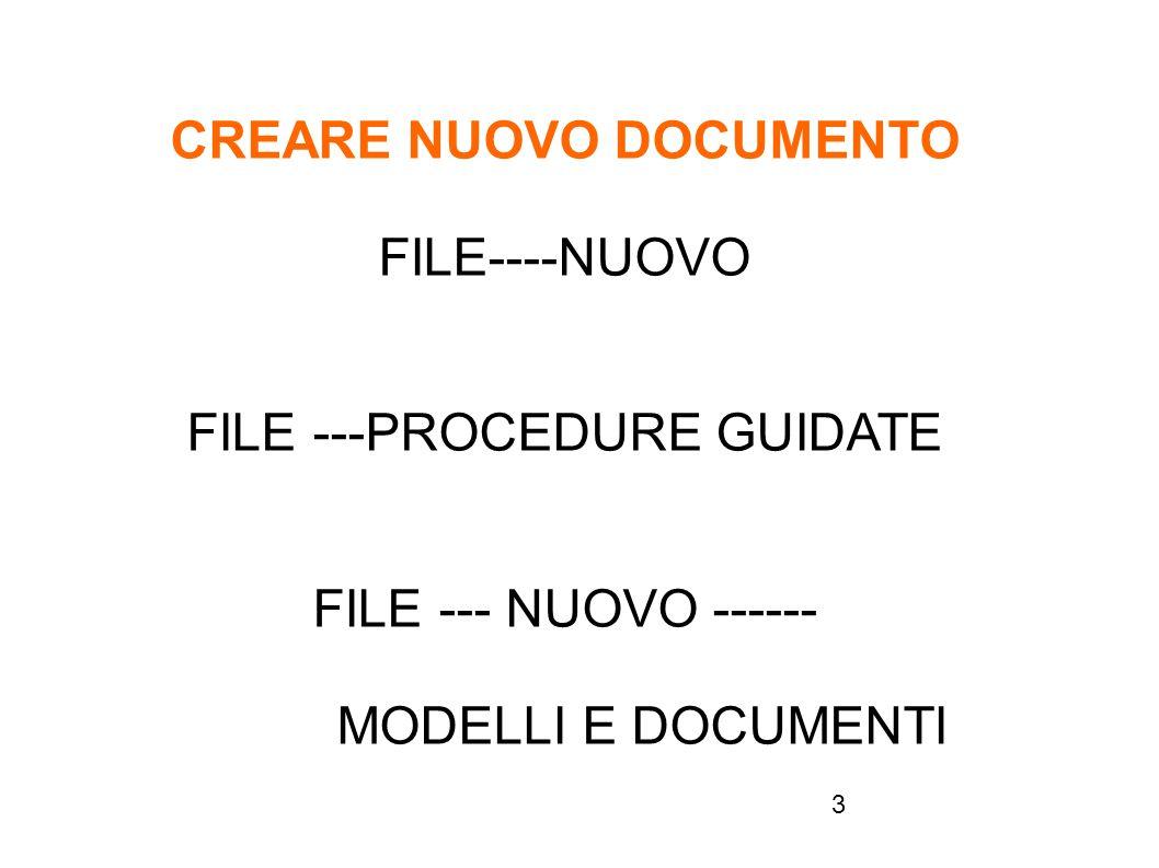 4 SALVARE NUOVO DOCUMENTO FILE / SALVA CON NOME ESTENSIONE E *.ODT ALTRI FORMATI *.TXT (ELIMINA TUTTE LE FORM.) *.RTF (RICONOSCIUTO DA QUALSIASI APPLIC.) *.OTT (COME MODELLO) oppure FILE/MODELLI/SALVA Creare un file denominato Primo (digitare i propri dati) e salvarlo Salvare poi il file come Primo-Testo Primo-Word Primo-Rich Primo-Word