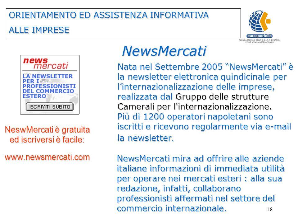 17 BRIDG€conomies NEWS BRIDG€conomies News è il quindicinale d informazione gratuito on- line del Consorzio BRIDG€conomies.