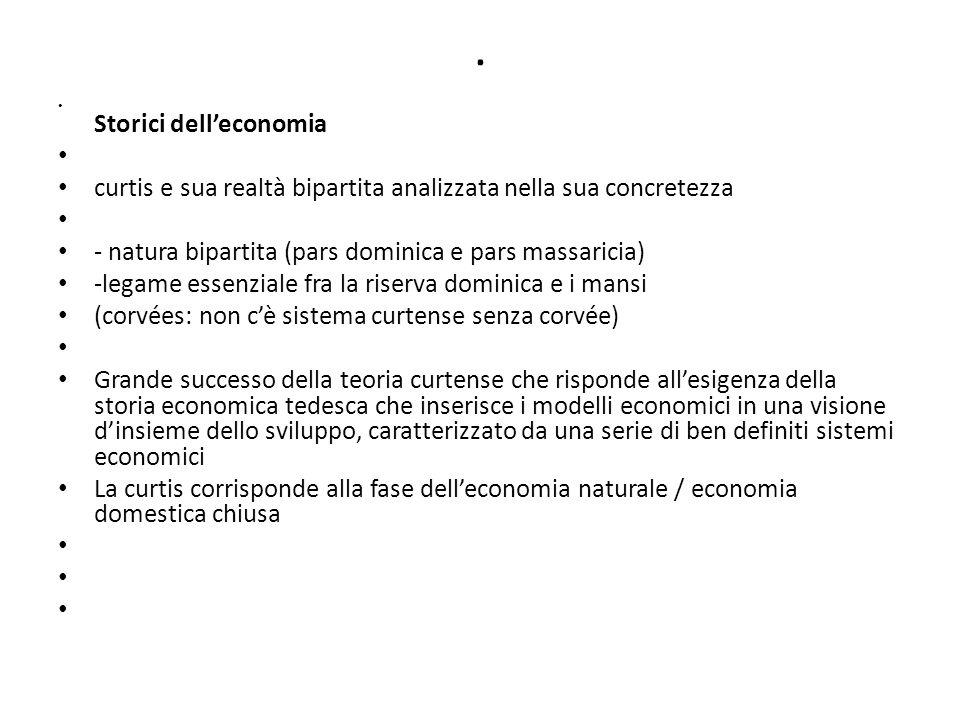 fonti capitulare de villis polittici (documento di gestione patrimoniale di un grande proprietario ecclesiastico, che riporta in genere 1.