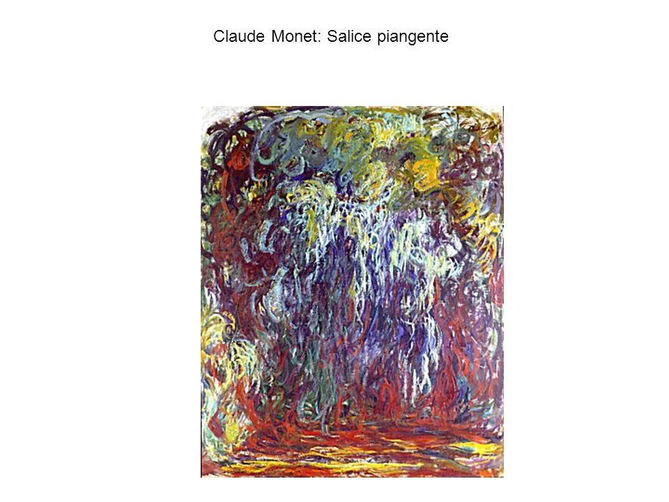 Claude Monet: Salice piangente