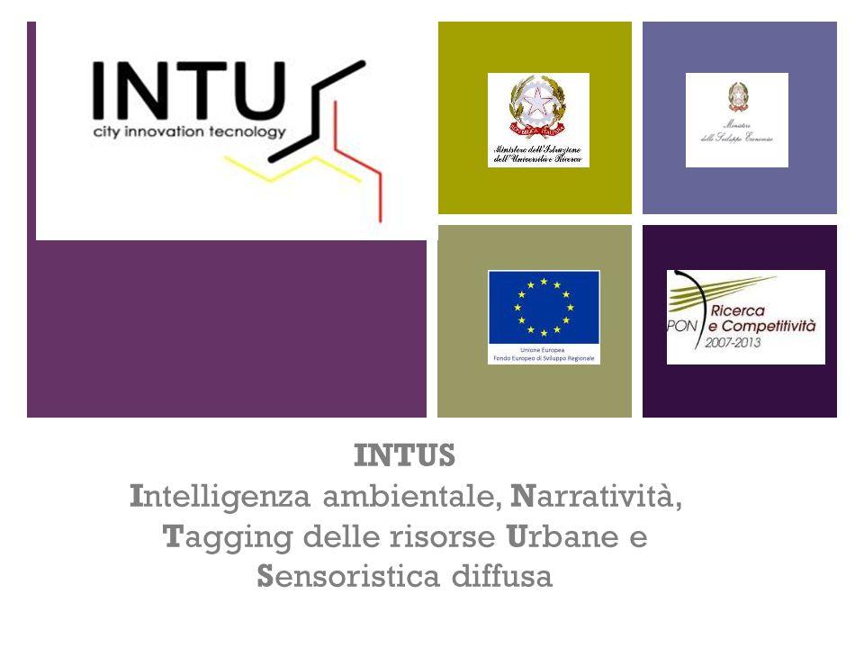 + INTUS Intelligenza ambientale, Narratività, Tagging delle risorse Urbane e Sensoristica diffusa