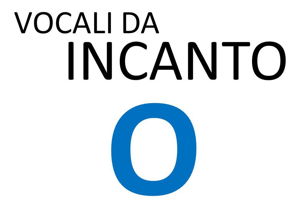 VOCALI DA INCANTO « - I NO » P I CCA vs PACCA, I SP I DO, APPUNT I TO BALUG I N I O ARZ I LLO, FULM I N E O